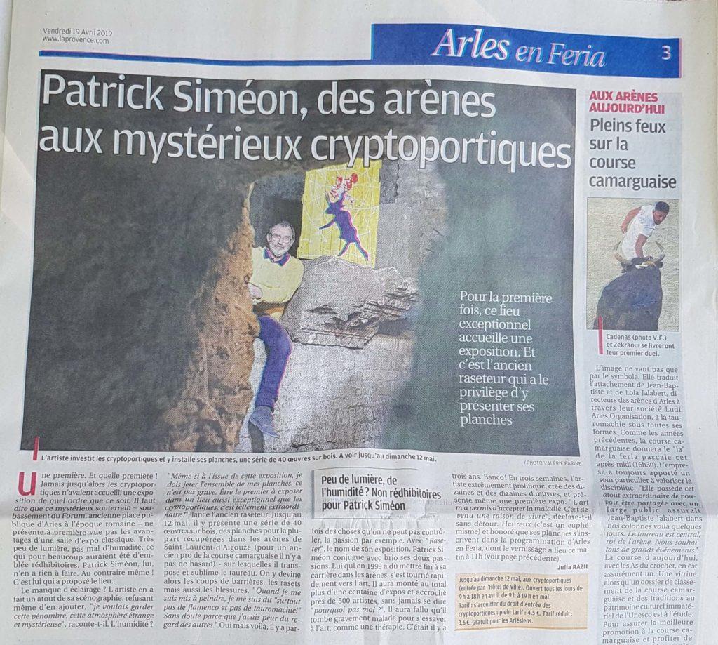 Arles - Cryptoportiques Romains - Mars 2019 - Raseter - La Provence